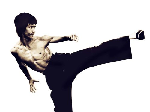 Bruce Lee Kicks