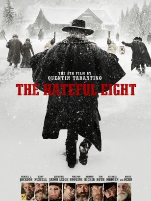 The hateful eight / The Weinstein Company presents the 8th film by Quentin Tarantino &#59; produced by Richard N. Gladstein, Stacey Sher, Shannon McIn