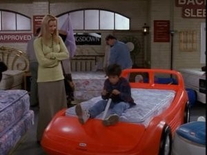 Friends: The One with the Race Car Bed