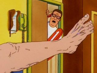 King of the Hill: The Unbearable Blindness of Laying