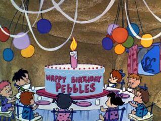 The Flintstones: Pebbles'  Birthday Party