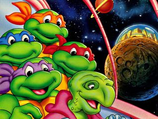 Teenage Mutant Ninja Turtles Out of This World: Planet of the Turtleoids