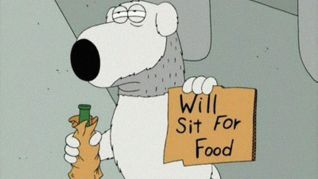 Family Guy: Brian: Portrait of a Dog