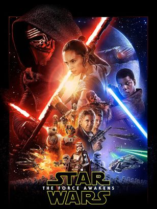 Star Wars. Episode VII, The Force awakens / a Lucasfilm Ltd. production &#59; a Bad Robot production &#59; produced by Kathleen Kennedy, J.J. Abrams,