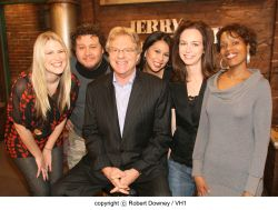 a biography of jerry springer born in london in 1944 Info, jerry springer was born in london in 1944 as his family fled from the  holocaust  jerry became mayor of cincinnati with the most votes in the citys  history.