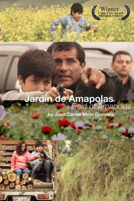 Jardín de amapolas