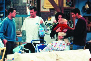 Friends: The One with the Baby on the Bus