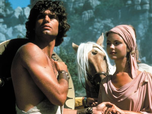 a review of clash of the titans a 1981 film by desmond davis The film's tonal shifts from the ridiculous to the sublime are too frequent and oddly handled to be forgivable, and they give clash of the titans a split personality one minute, there's a tense confrontation between perseus and a hideous monster.