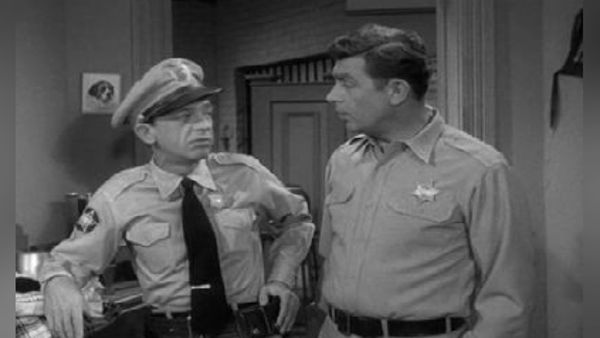 The Andy Griffith Show Up In Barney S Room