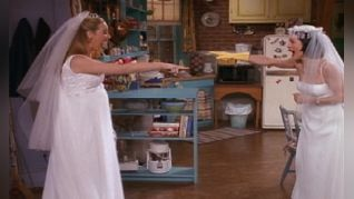 Friends: The One with the Wedding Dresses