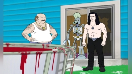 Aqua Teen Hunger Force: Cybernetic Ghost of Christmas Past from the Future
