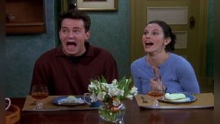 Friends: The One with Chandler's Work Laugh