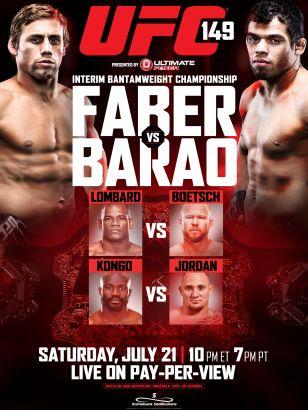 UFC 149: Faber vs. Barao