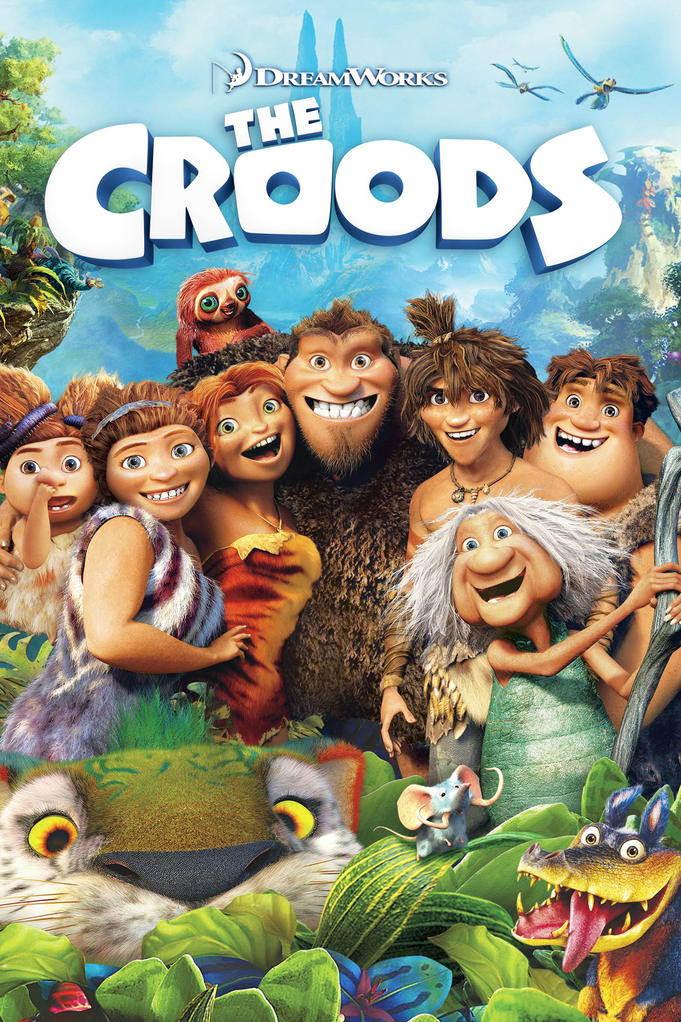 The Croods / 20th Century Fox &#59; Dreamworks Animation &#59; directed by Chris Sanders & Kirk DeMicco &#59; produced by Kristine Belson, Jane Hartwe