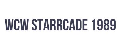 WCW: Starrcade '89 - Future Shock