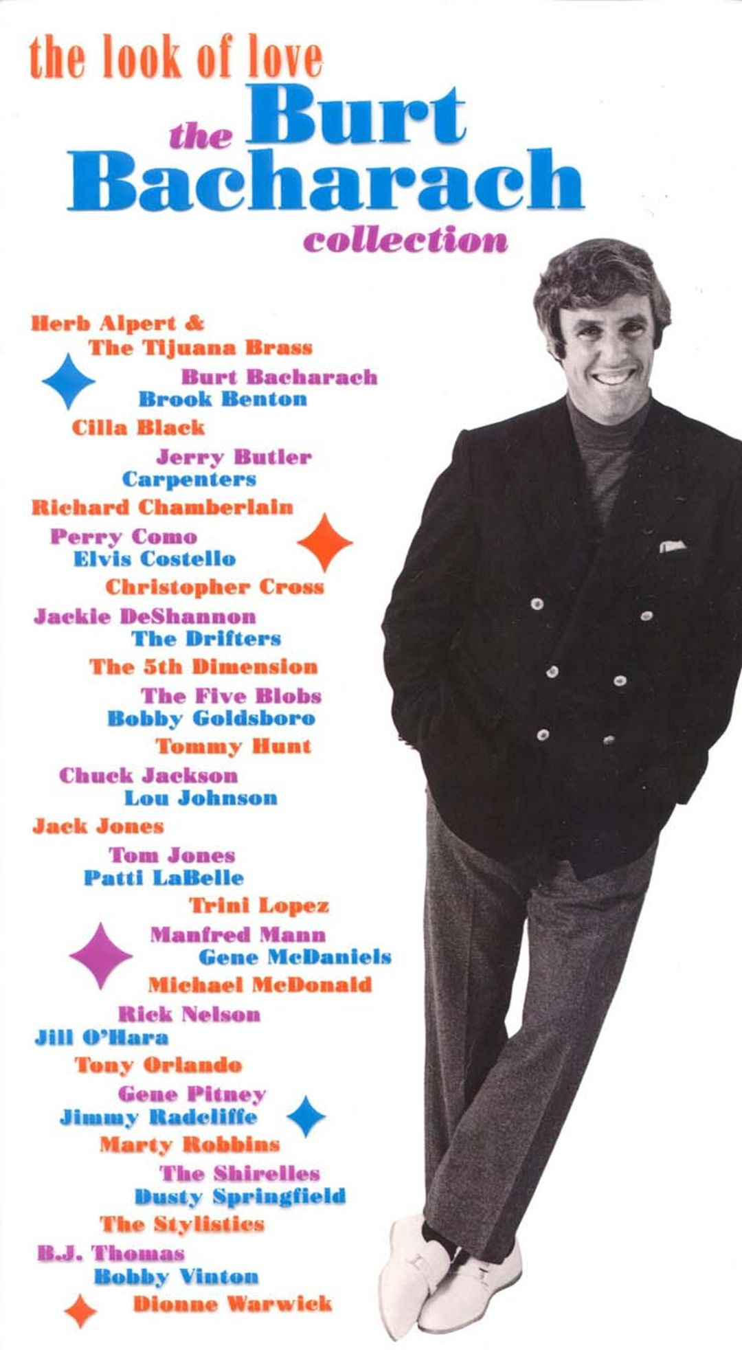 Book Of Love Album Cover : The look of love burt bacharach collection