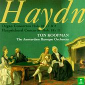 Haydn: Concerto for Harpsichord and Orchestra in D major/Concerto for Organ and Orchestra in C major/Concerto for Org