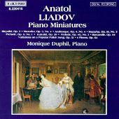 Liadov: Piano Miniatures