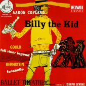Copland: Billy the Kid (Complete Ballet), etc.