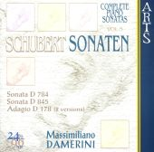 Schubert: Sonata D 784; Sonata D 845; Adagion D 178 (2 versions)