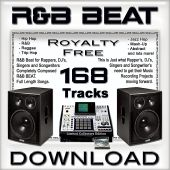 R&B Beat: 168 Royalty-Free Tracks