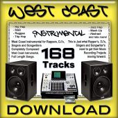 West Coast Instrumental: 168 Instrumental Tracks