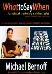 What To Say When For: Network Marketing and Direct Sales