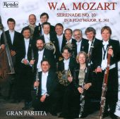 Mozart: Serenade No. 10 in B Flat Major, K.361