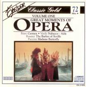 Great Moments of Opera, Vol. 1