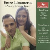 Enter Limoneros (Among the Lemon Trees): Two-Piano Music by Elena Martín