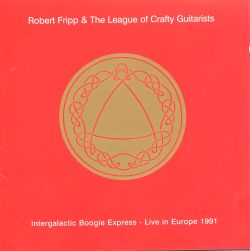 Robert Fripp League Of Gentlemen The League Of Gentlemen