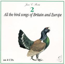 Jean C. Roché The Bird Walker - A Dictionary Of The Bird Voices Of Britain Europe And North Africa