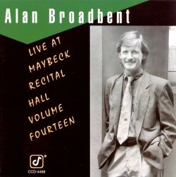 Live at Maybeck Recital Hall, Vol. 14
