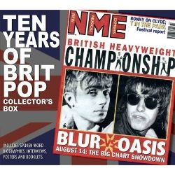 10 Years of Britpop: Collectors Box Unauthorized