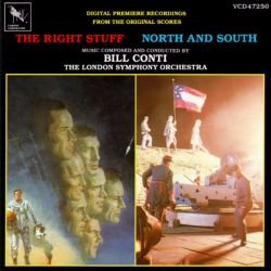 Original Scores by Bill Conti: The Right Stuff / North and South