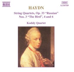 "Haydn: String Quartets, Op. 33 ""Russian"", No. 3 ""The Bird"", 4 and 6"
