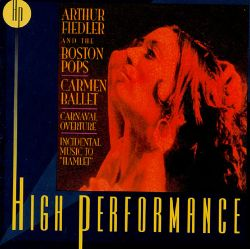 Bizet Shchedrin Arthur Fiedler Boston Pops The Carmen Ballet