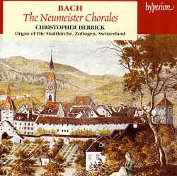 Bach: The Neumeister Chorales