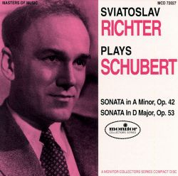 Sviatoslav Richter plays Schubert