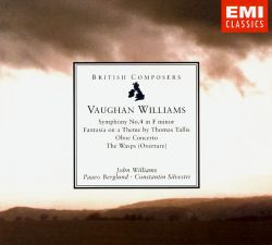 Ralph Vaughan Williams: Symphony No. 4 in F minor; Fantasia on a Theme by Thomas Tallis; Oboe Concerto