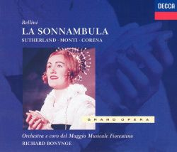 """la sonnambula dessay review Yet one doesn't go to """"la sonnambula"""" for sizzling drama but rather for bellini's alluring melodies ms dessay sings the melodies ravishingly, with beguiling tone, supple phrasing and."""