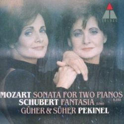 Mozart: Sonata for Two Pianos; Schubert: Fantasia