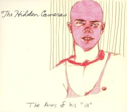 "The Hidden Cameras - ""Arms of His Ill"" 10-inch - Absolutely Kosher Records"