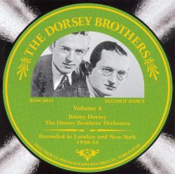 The Dorsey Brothers, Vol. 4