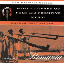 World Library of Folk and Primitive Music, Vol. XVII: Romania