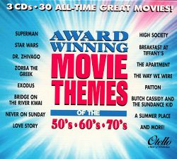 award winning movie themes of the 50s 60s amp 70s