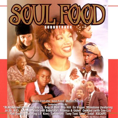 Soul food music from the soul food motion picture for American cuisine film