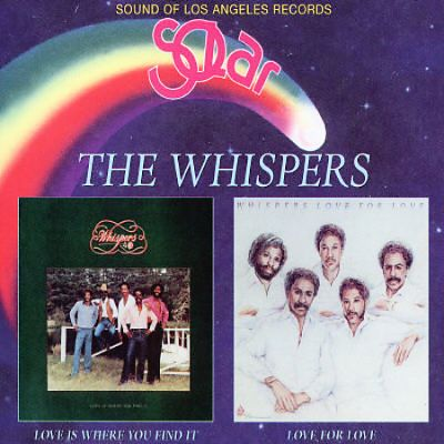 Love Is Where You Find It/Love for Love by The Whispers (CD, Jun-2013, Cherry Red)