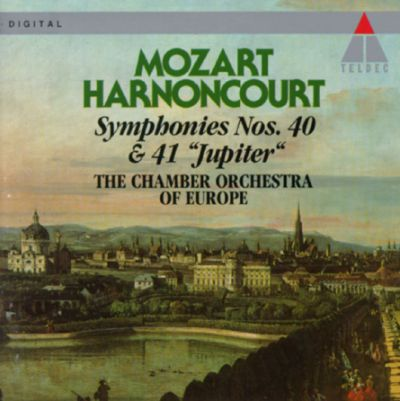 Mozart symphonies nos 40 41 jupiter chamber for Chamber orchestra of europe