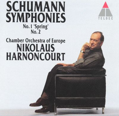 Schumann symphonies no 1 spring no 2 chamber for Chamber orchestra of europe